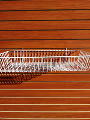 Long Shallow Basket - Slat Wall