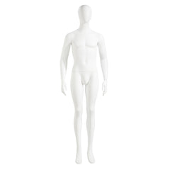 Male Mannequin - Oval Head, Arms at Sides