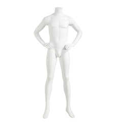 Male Mannequin - Headless, Hands on Hips