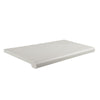 "15"" Deep Bullnose Shelves with Open Bottom"