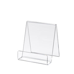 Small Acrylic Literature Holder Easel