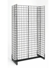 4 Sided Gondola Display - Grid Wall