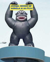 Inflatable King Kong Gorilla
