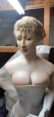 Victorian Female Bust with Stand