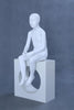 Child Faceless Sitting Mannequin