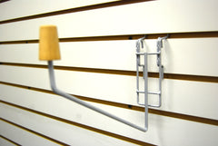 Head Holder for Slatwall or Gridwall