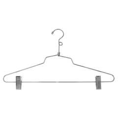 "16"" Steel Combination Hanger w/ Vinyl Cushion Clips and Loop Hook"