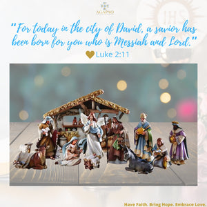 The First Nativity Scene, inspired by St. Francis of Assisi