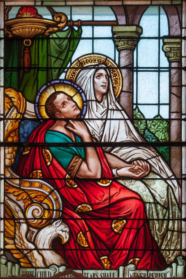 Saint Monica, Mother of  St. Augustine