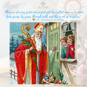 St. Nicholas of Myra: The Real Santa Claus