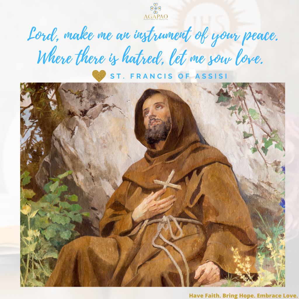 Finding Peace in the Midst Chaos with St. Francis of Assisi
