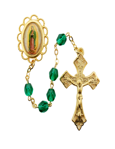 Our Lady of Guadalupe Green Rosary