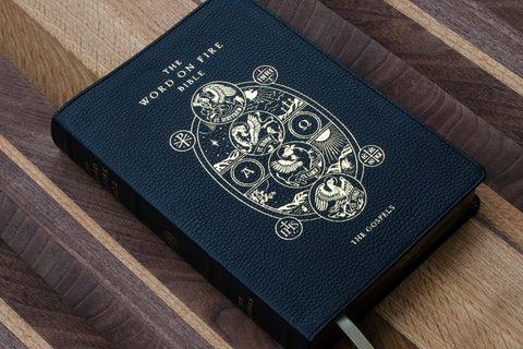 Word on Fire Bible: The Gospels - Leather