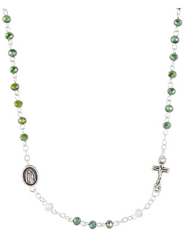 Our Lady of Guadalupe Rosary Necklace