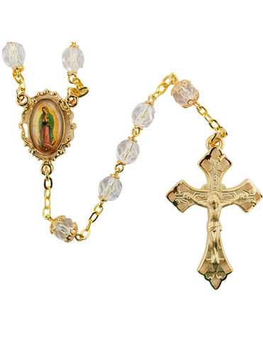 7mm Our Lady of Guadalupe Rosary
