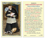 Laminated Holy Card St. Alphonsus - 25 Pcs. Per Package
