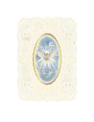 Confirmation Holy Card Deluxe Embossed - 12 Pcs. Per Package