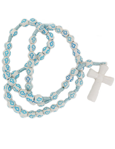 Children Blue Cross Rosary
