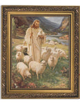 Sallman: Lord Is My Shepherd Ornate Gold Finish Frame