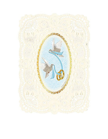 Wedding Holy Card Deluxe Embossed - 12 Pcs. Per Package
