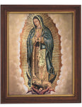 Our Lady Of Guadalupe Woodtone Finish Frame