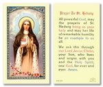 Laminated Holy Card St. Hedwig - 25 Pcs. Per Package