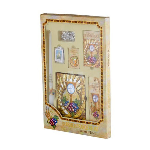 Deluxe Boxed Set of First Communion - Girl