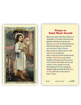 Laminated Holy Card St. Maria Goretti - 25 Pcs. Per Package