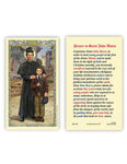 Laminated Holy Card St John Bosco - 25 Pcs. Per Package