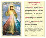 Laminated Holy Card The Divine Mercy Chaplet - 25 Pcs. Per Package