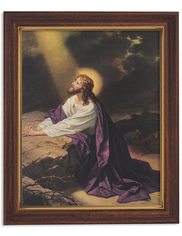 Gethsemane Woodtone Finish Frame