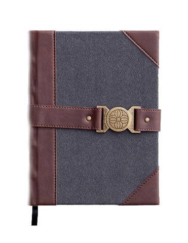 Premium Christian Journal - Felt & Leather