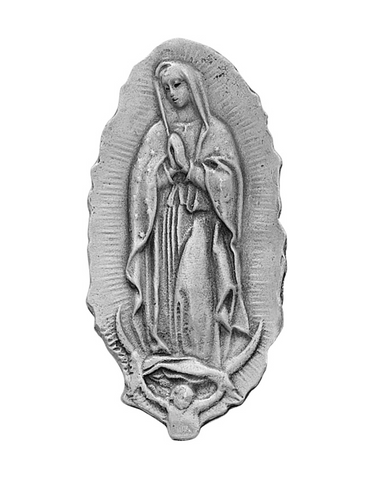 Our Lady of Guadalupe Visor Clip that is suitable for any type of visor for cars