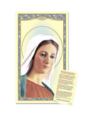 Our Lady of Medjugorje 25pcs Laminated Holy Card with a Prayer Guide a perfect token for everyone family and friends on any occasion or celebration