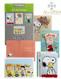 12pcs Snoopy Peanuts Encouragement Greeting Cards Set of 4 beautiful peanut characted deisgns and inner scriptures and inspirational phrases a perfect gift for birthdays or any occasion for your family brother sister and friends
