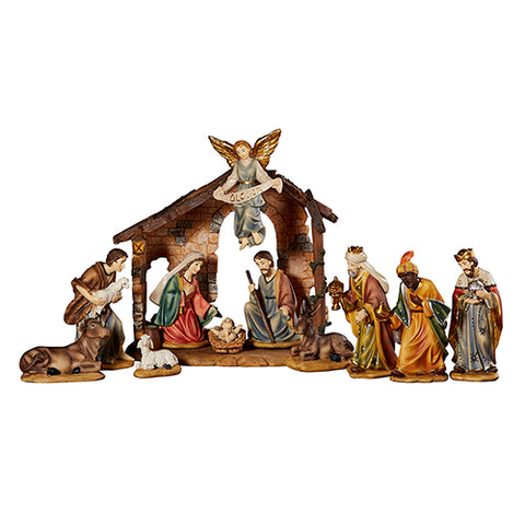 "4-1/4""H Nativity Figurine Set 