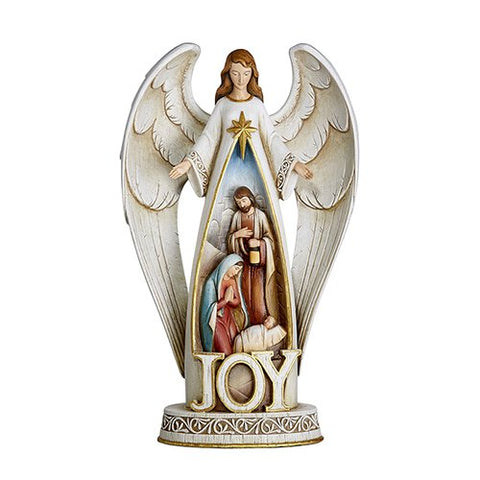 "17.25"" Joy Nativity Figurine"
