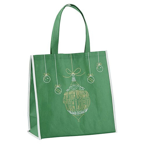 "13""H Tote Bag - Joy To The World the Lord Has Come"