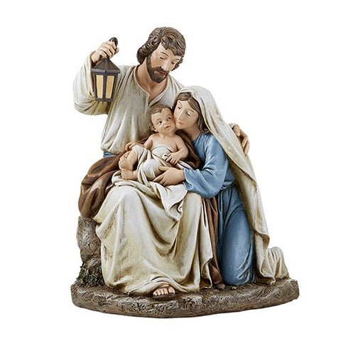 "9.25"" H Figurine - Blessed Holy Family"