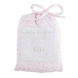 SWADDLE BLANKET - HEARTS & CROWNS