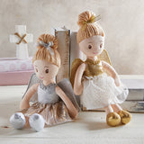 Stephan Baby Angel Doll - Gold