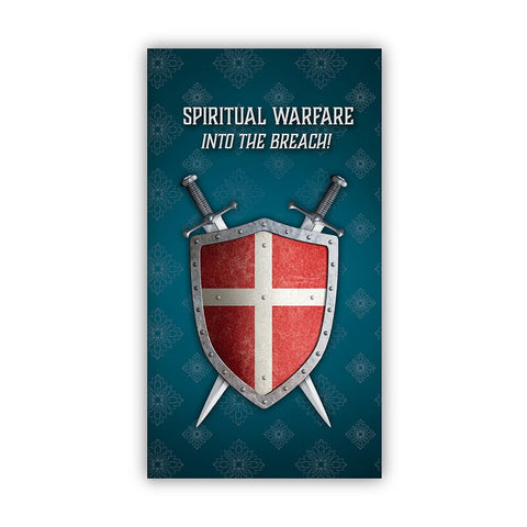 Spiritual Warfare Trifold Pocket Card