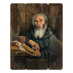 Wood Pallet Sign - Saint Benedict