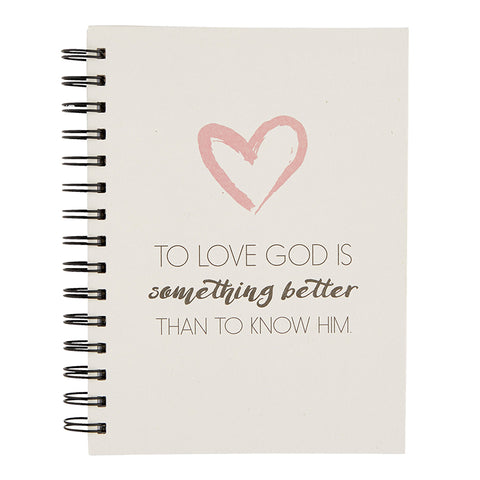 To Love God Journal