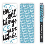 In All Things Pen And Bookmark