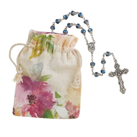 Strength & Dignity Mother's Rosary - Blue