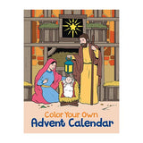 "11"" Calendar - Advent Calendar To Color - 6 Pieces Per Set"