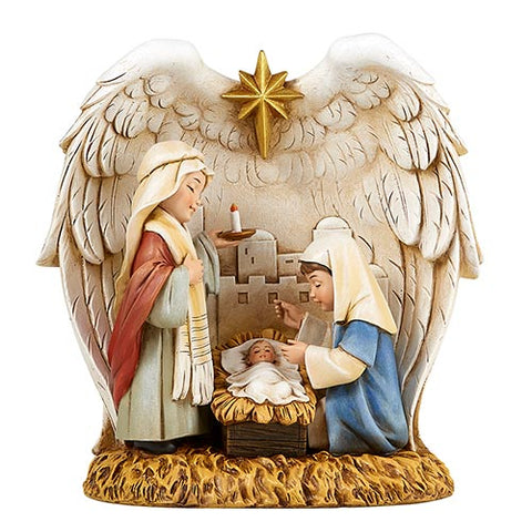 "7.5""H Figurine Children's Nativity"