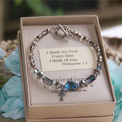 I thank God Every Time I think of You...bracelet