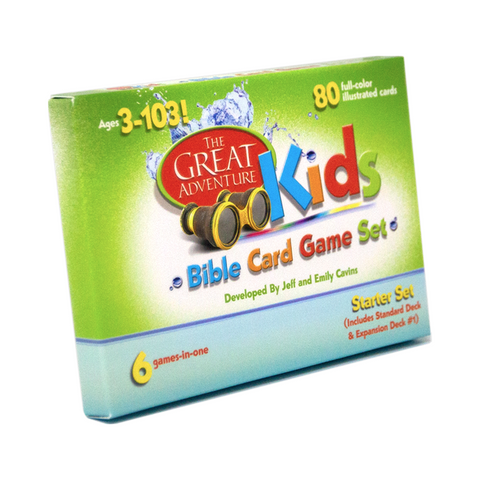 The Great Adventure Kids Bible Card Game Set